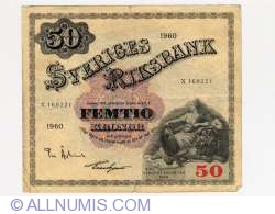 Image #1 of 50 Kronor 1960