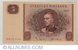 Image #1 of 5 Kroner 1961