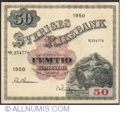 Image #1 of 50 Kronor 1950