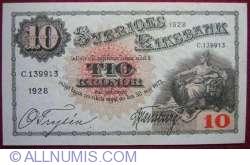 10 Kronor 1928