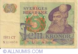 Image #1 of 5 Kronor 1973
