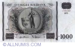 Image #1 of 1000 Kronor 1971