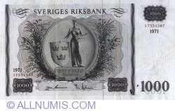 Imaginea #1 a 1000 Coroane Suedeze 1971