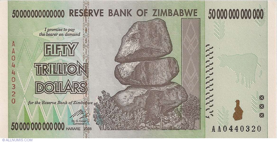 50 Trillion Dollars 2008