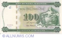Image #1 of 100 Kronor 2005 - 250th anniversary of the Tumba Paper Mill