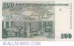 Image #2 of 100 Kronor 2005 - 250th anniversary of the Tumba Paper Mill