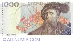 Image #1 of 1000 Kronor 1991