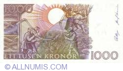 Image #2 of 1000 Kronor 1991