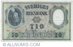 Image #1 of 10 Kronor 1952 - 1