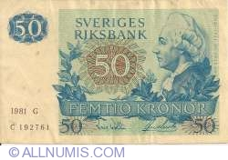 Image #1 of 50 Kronor 1981