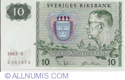 Image #1 of 10 Kronor 1963