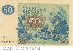 Image #1 of 50 Kronor 1989