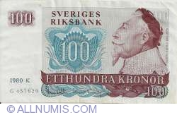 Image #1 of 100 Kronor 1980