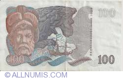 Image #2 of 100 Kronor 1980