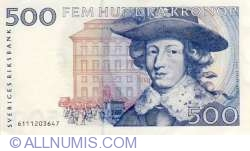 Image #1 of 500 Kronor 1986