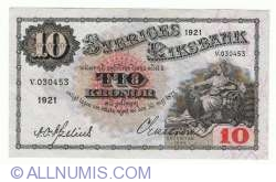 Image #1 of 10 Kronor 1921