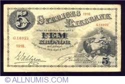Image #1 of 5 Kronor 1916