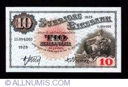 Image #1 of 10 Kronor 1929