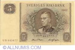 Image #1 of 5 Kroner 1962