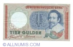 Image #1 of 10 Gulden 1953 (23. III.) - 1