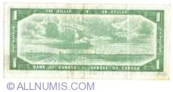 Imaginea #2 a 1 Dolar 1954 (1955-1961) - semnături Beattie / Coyne