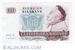 Image #1 of 100 Kronor 1965