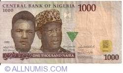 Image #1 of 1000 Naira 2005