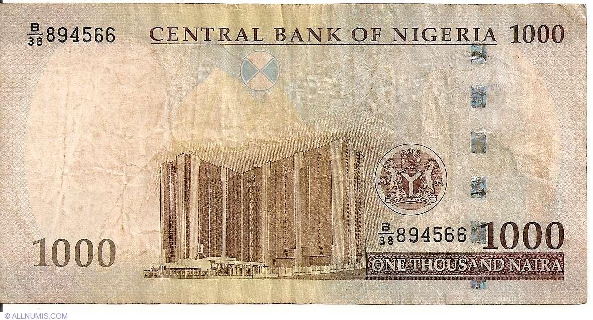 1000 Naira 2005