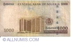 Image #2 of 1000 Naira 2005