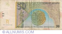 Imaginea #2 a 50 Denari (Денари) 2007 (I.)