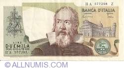 Image #1 of 2000 Lire 1983 (24. X.) - Signatures Carlo Azeglio Ciampi / Vittorio Stevani
