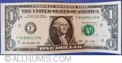 Image #1 of 1 Dollar 2013 - F