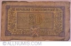Image #2 of 20 Korun ND (1945)