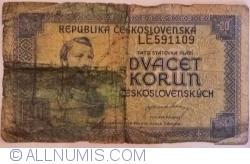 Image #1 of 20 Korun ND (1945)