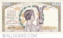 Image #1 of 5000 Francs 1943 (18. III.)