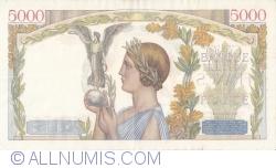 Image #2 of 5000 Francs 1943 (18. III.)