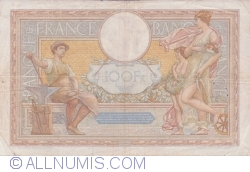 Image #2 of 100 Francs 1935 (1. VIII.)