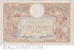 Image #1 of 100 Francs 1935 (1. VIII.)