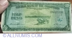 Image #1 of 1/2 Peso ND (1949)