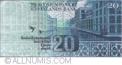 20 Markkaa 1993 (1997) - semnături Vanhala / Koivikko