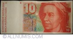 Image #1 of 10 Franken (19)91 - signatures Peter Gerber / Jean Zwahlen (63)