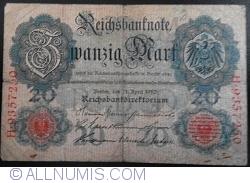Image #1 of 20 Mark 1910 (21. IV.) - M