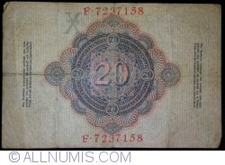 Image #2 of 20 Mark 1910 (21. IV.) - X