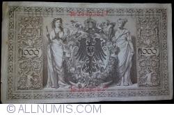 Image #2 of 1000 Mark 1910 (21. IV.) - P