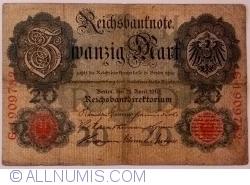 Image #1 of 20 Mark 1910 (21. IV.) - H