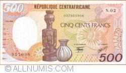 Image #1 of 500 Francs 1986 (1. I.)