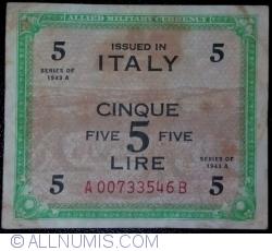 Image #1 of 5 Lire 1943 A