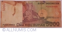 Image #1 of 5000 Rupiah 2013 (2)