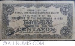 Imaginea #2 a 50 Centavos 1942