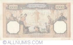 Image #2 of 1000 Francs 1940 (11. IV.)